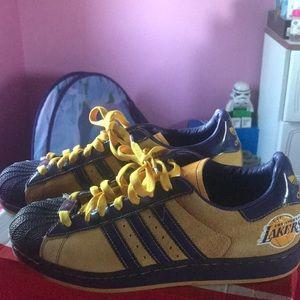Adidas laker shoes
